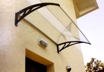 Auvents gouttieres revetements balcons site - Patio fibre de verre prix ...