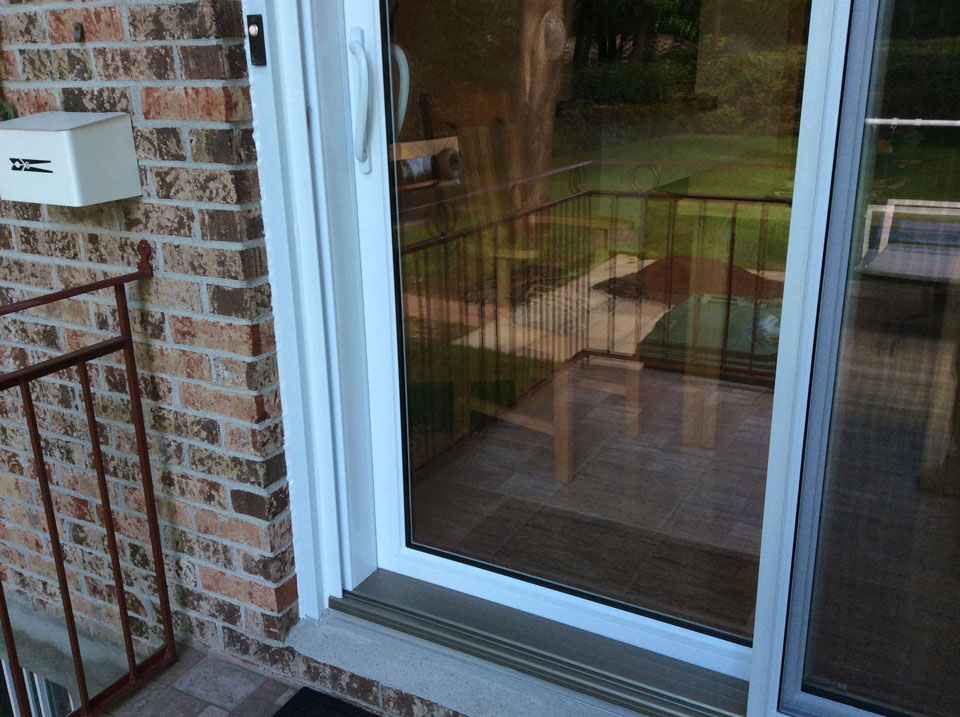Les portes patio portes coulissantes aluminium pierre for Porte patio dimension